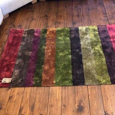Home Accessories Multi coloured stripped rug