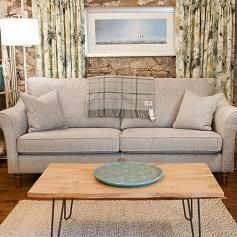 Bespoke Sofas Beige 3 seat sofa